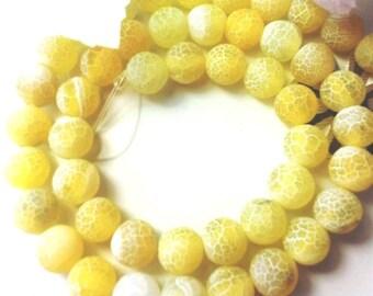 48 AGATE Gemstone Beads 8mm - COD8464