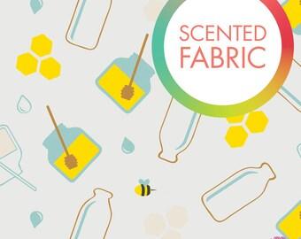 140173312 - Scented Fabric - Milk & Honey Print