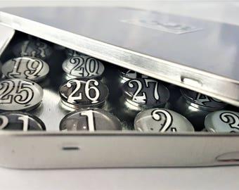 Gray Calendar   Number Magnets   Calendar Magnets   Planner Numbers   Glass Number Magnets   Perpetual Calendar   Magnet Board Numbers