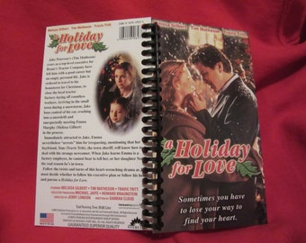 A Holiday For Love VHS notebook