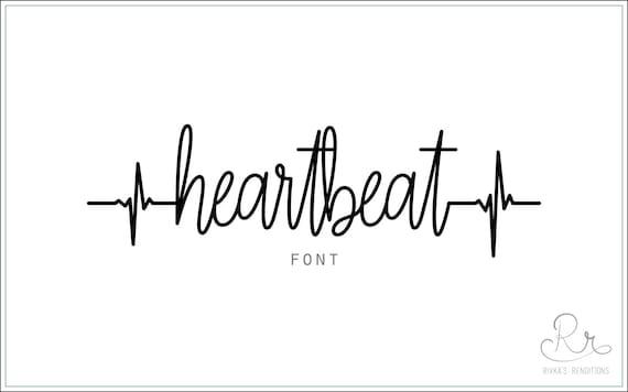 Heartbeat Font downloaden / / OTF / TTF Open Type Fonts