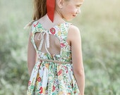 WINTER SALE NEW: June Dress Pdf Sewing Pattern & Tutorial, All sizes 2-10 Included