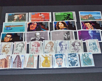 West Germany 1988 MNH Full year of stamps