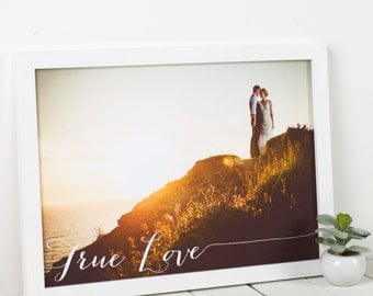 Personalised Photo Art Print