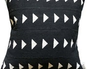 MEROE Mud Cloth/ African Mudcloth Pillow Covers (various sizes)