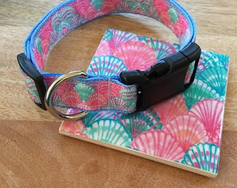 Lilly Pulitzer dog collar Oh Shello
