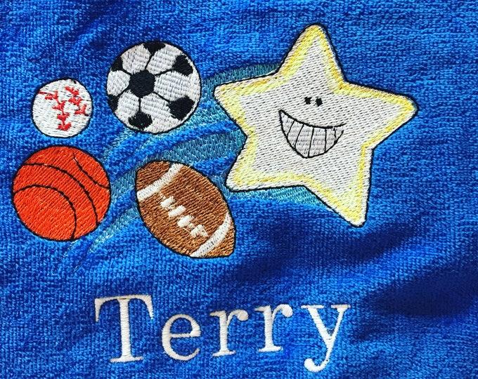 Personalized Kids Towels, Kids towel, personalized kids towel, boy towel, girl towel,