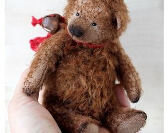 Artist Classic Teddy Bear Oggy 16 сm OOAK