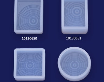 1 Water ripples Effect Resin Silicone Mould Ripples of the lake fashion 101306
