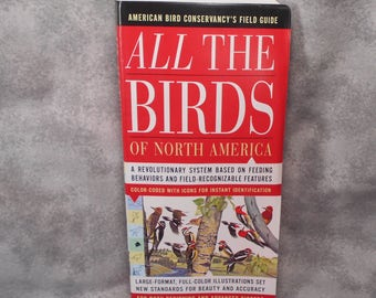 All The Birds Of North America Guide Book First Edition MINT Condition