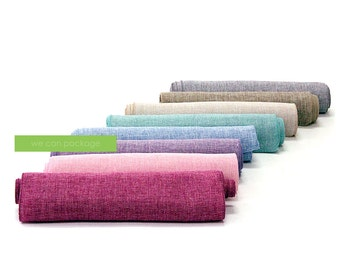 """SALE: Linen Table Runner - Wedding Runner - Special Event Decoration- 14"""" x 108"""" - Pastel Colors!"""