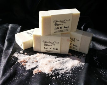Salt and Sage soap by Badger Creek Soap