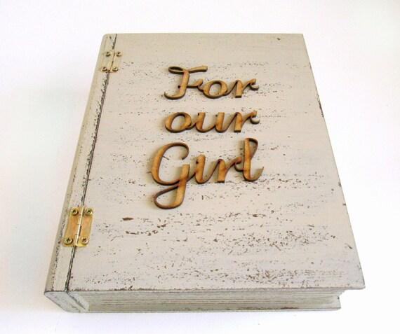 Wedding Memory Box Gift For Daughter Bridal Shower Gift