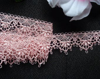 1 1/8 inch wide dusty rose trim price for 1 yard