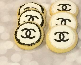 Chanel cookies -Kosher - 1 Dozen
