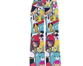 Tiniez all over pattern pajama bottoms / string pants