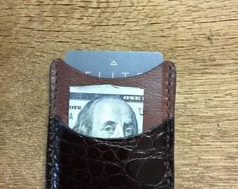 Alligator Credit Card / Front pocket wallet