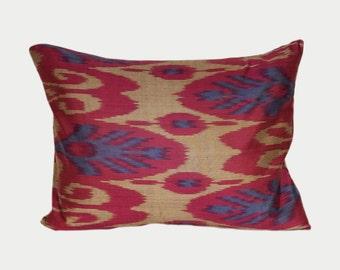 Ikat Pillow, Ikat Pillow Cover a536, Ikat throw pillows, Designer pillows, Decorative pillows, Accent pillows