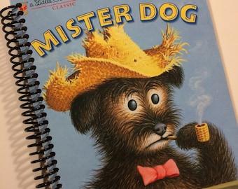 Baby Book Mister Dog Golden Book  Journal Notebook Book Little Golden Book The Lively Little Rabbit