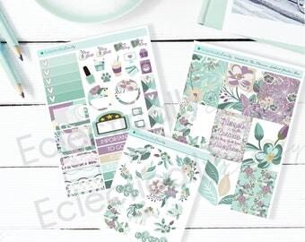 RETIRING Spring Whimsy Sticker Kit | Boho Planner Stickers | Stickers for Erin Condren Life Planner | Glam Stickers