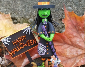 Quilling ~ Halloween Witch
