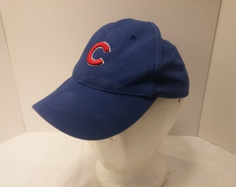 Vintage 1990s Infant Size Chicago Cubs Baseball Cap - World Series, Cubs, Indians, Baseball, Collectibles, Sports Memorabilia