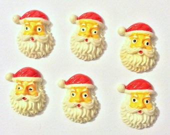 Christmas Needle Minder, Santa Needle Minder, Festive Needle Keep, Pin Holder, Fridge Magnet, Stitch Minder, Needle Holder, Needle Keep