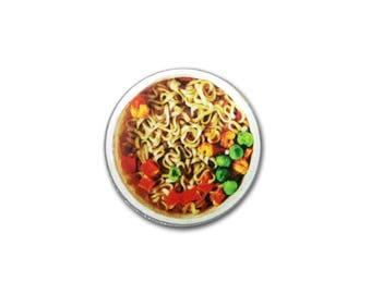 1 Inch Pinback Button Original - Cup Noodles
