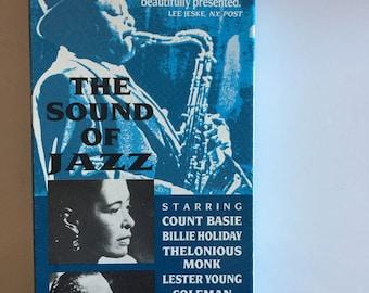 The SOUND Of Jazz  (BILLIE HOLIDAY ) Vhs