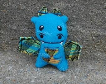 Tiny Pellicano Baby Wrap Scrap Dragon