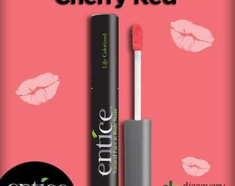 Henna Maiden CHERRY RED Long Lasting Lip Stain