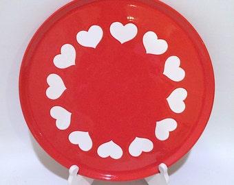 Waechtersbach Heart Cake Plate