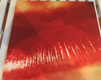 The Cure:   Kiss Me Kiss Me Kiss Me Double Album 2LP Vinyl 1987 Elektra  Record Album Lp Punk, Goth, Robert Smith