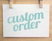 Custom Order for annedm128