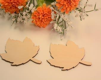 """Guest Book Alternative, Blank Leaves, Leaf Decorations, Fall Decorations, Fall Wedding, Wedding Decorations, Leaves, 2 or 3"""" Blank"""