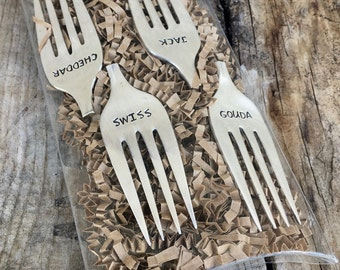Cheese Marker Set - Fork Tine Cheese Markers