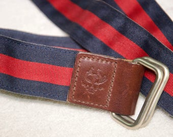 Brooks Brothers Webbing Belt