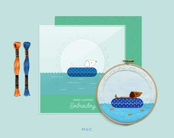 Darby + Dot™ - Floating -  M&C Embroidery Collection
