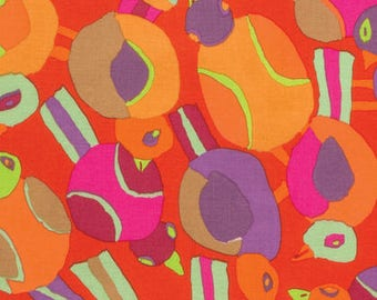 Spring 2017 by Philip Jacobs for Free Spirit - Round Robin - Red - 1/2 yard Cotton Quilt fabric 417