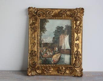 Rococo picture frame- Free Shipping