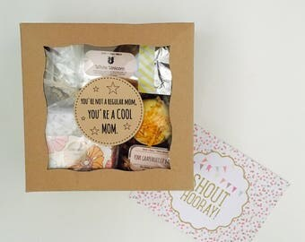 You're not a regular mom, you're a COOL mom: Mother's Day gift box