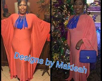 Yellow Custom Gown dress