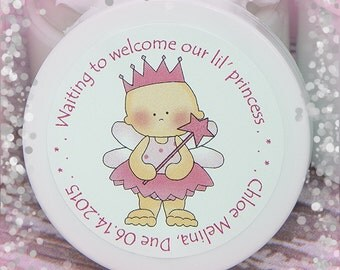 Baby Shower Favors - Unique Shower Favors - Baby Girl - Whipped Body Butter - Personalized Favors - Baby Shower, Shower Gift