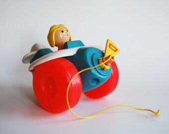 Vintage Fisher Price Plane Toy