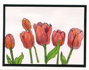 61558 Red Tulips