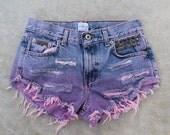 CK pink dip dyed shorts calvin klein jeans