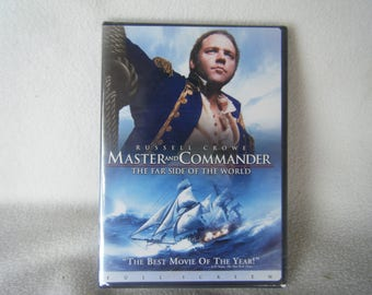 Vintage DVD Movie Master and Commander - New