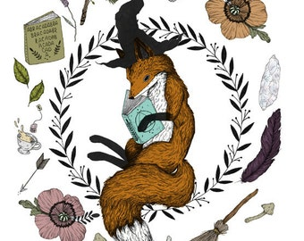 Magic Fox Student Print