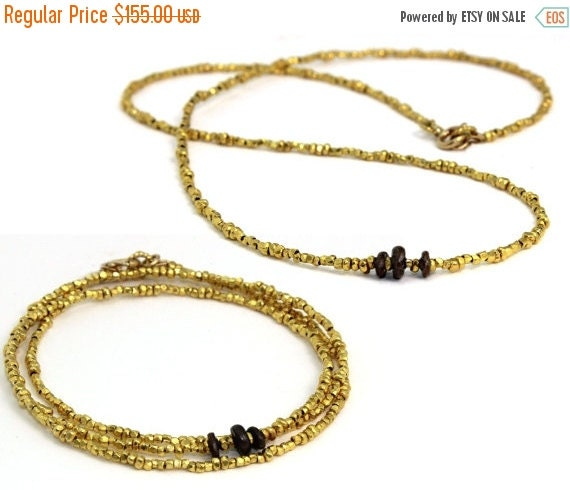 20% off. Pure Silver or Vermeil Bracelet. Skinny Beaded Wrap Bracelet. Convertible. You Choose Nuggets or Opals in Vermeil or Pure Silver. B