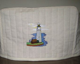 2 Slice Toaster Cover Lighthouse Design